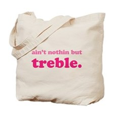 Funny Music Treble Tote Bag
