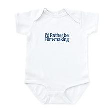 I'd Rather be Film-making Infant Bodysuit