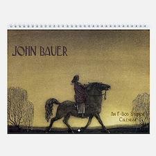 John Bauer Wall Calendar