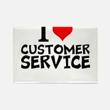 I Love Customer Service Magnets