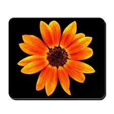 On Fire Sunflower Mousepad