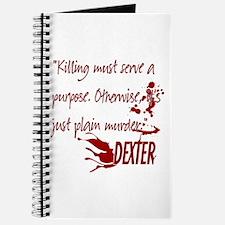 Dexter Murder Journal