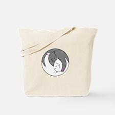 Yin Yang BC Bracelets Tote Bag