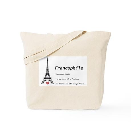 Fun 'Francophile' Tote Bag