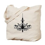 French Chandelier Tote Bag