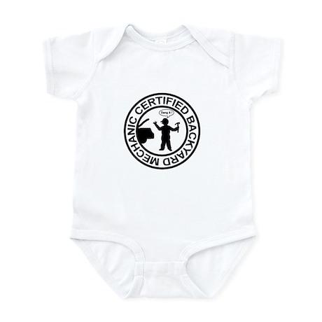 Certified Backyard Mechanic Infant Bodysuit