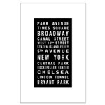 New York Destination Roll Large Poster