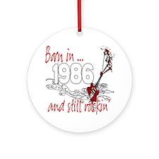Born in 1986 Ornament (Round)