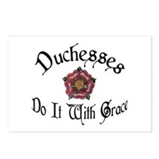 Duchesses Do it With Grace! Postcards (Package of