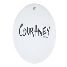 Courtney Oval Ornament