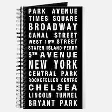 New York Destination Roll Journal