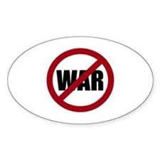 No War Decal