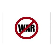 No War Postcards (Package of 8)