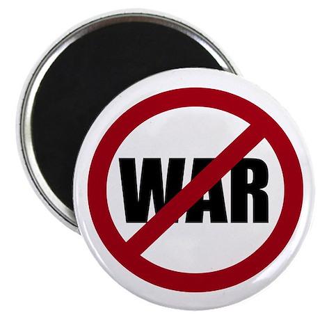 "No War 2.25"" Magnet (100 pack)"