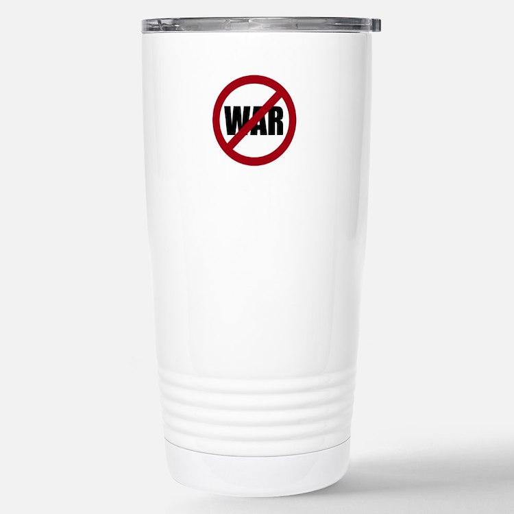 No War Travel Mug