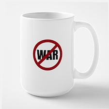 No War Large Mug