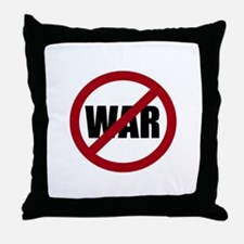 No War Throw Pillow