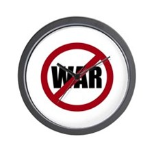 No War Wall Clock