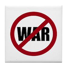No War Tile Coaster