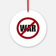 No War Ornament (Round)