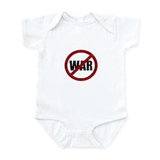 No War Infant Bodysuit