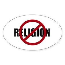 Anti-religion Decal