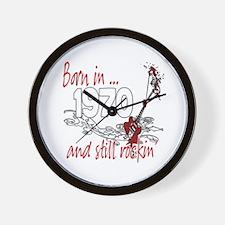 Born in 1970 Wall Clock