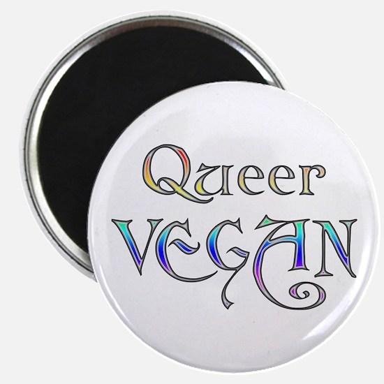 Queer Vegan Magnet