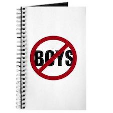 No Boys Journal