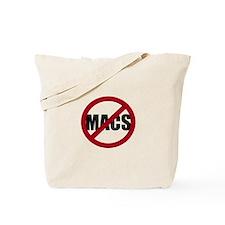 No Macs Tote Bag
