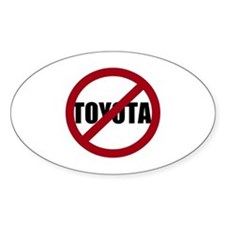 Anti-Toyota Decal