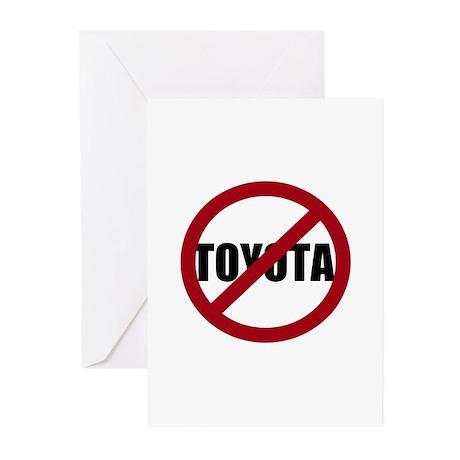Anti-Toyota Greeting Cards (Pk of 10)
