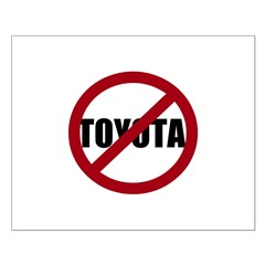 Anti-Toyota Posters