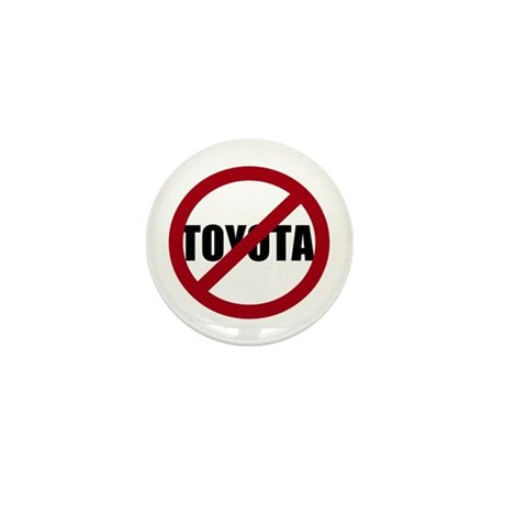 Anti-Toyota Mini Button