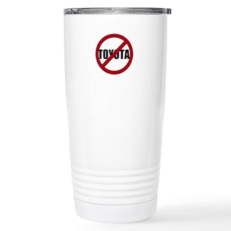 Anti-Toyota Stainless Steel Travel Mug