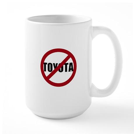 Anti-Toyota Large Mug