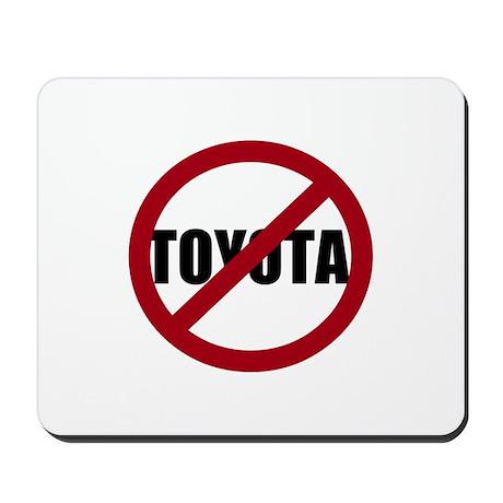 Anti-Toyota Mousepad