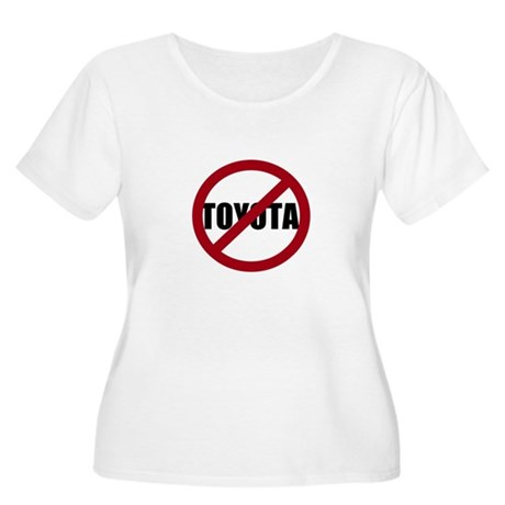 Anti-Toyota Women's Plus Size Scoop Neck T-Shirt