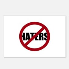 No Haters Postcards (Package of 8)