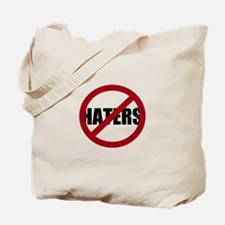 No Haters Tote Bag