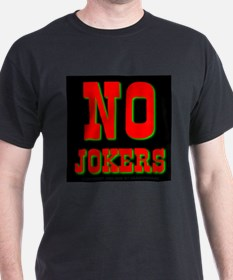 No Jokers Black T-Shirt