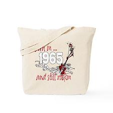Born in 1965 Tote Bag