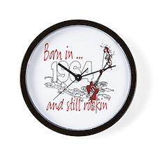 Born in 1964 Wall Clock