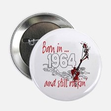 "Born in 1964 2.25"" Button (10 pack)"