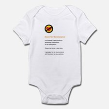 Down for Maintenance Infant Creeper