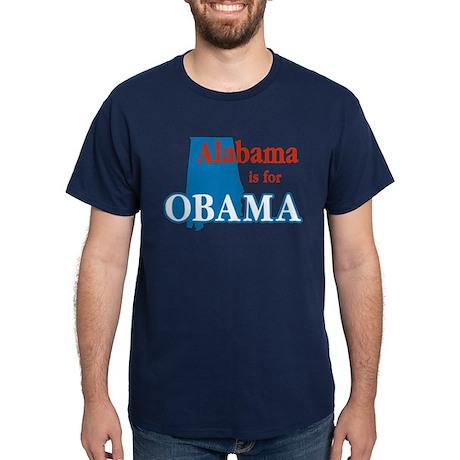 Alabama Is For Obama Dark T-Shirt