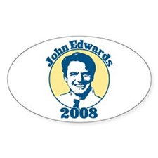 John Edwards 2008 Decal