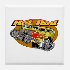 Hot Rod Tile Coaster