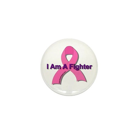 I Am A Fighter Mini Button (10 pack)