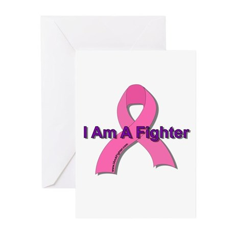 I Am A Fighter Greeting Cards (Pk of 20)